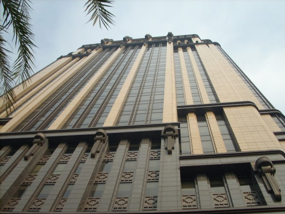 Parkview Square, eines der teuersten Bürogebäude in Singapore. Aufgenommen am 8. August 2009